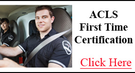ACLS First Time Certification Class | CPR Memphis