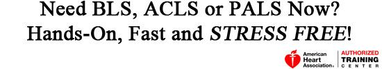 ACLS - BLS Classes, Memphis TN