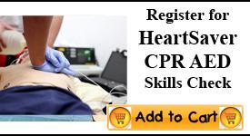 Heartsaver CPR Skills Check, Memphis